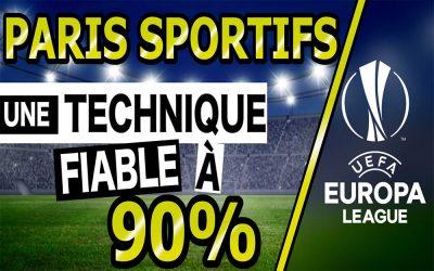 PARIS SPORTIFS : Je vous donne une technique fiable à 90% sur l'Europa League 2019