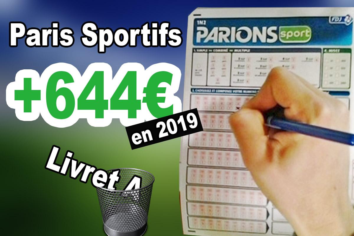 [VIDEO] +644€ grâce à cette technique aux paris sportifs en 2019